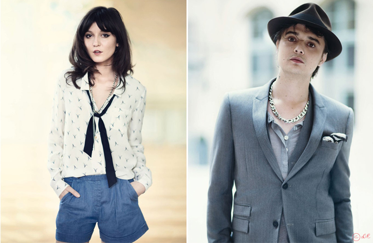 Peter Doherty couple