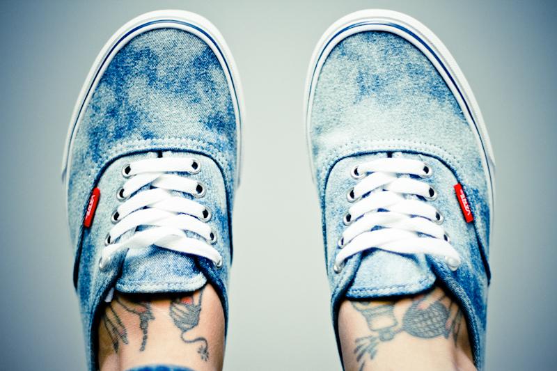 Vans Homme Bleu Jean