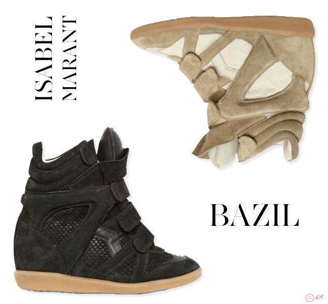 e944ef4dea2d Voilà arrivées les nouvelles versions des célèbres sneakers imaginées par Isabel  Marant. Je ne vous referai pas le topo sur l histoire de ces chaussures ...