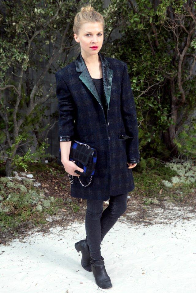Clémence Poésy Chanel Haute Couture 2013-1
