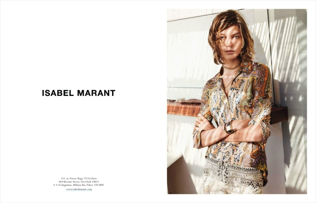 Isabel-Marant-Daria-Werbowy-Spring-Summer-2013-campaign-2