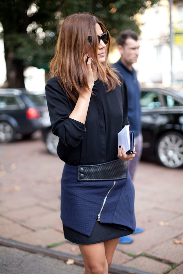 Moda ulice - Page 2 Jupe-pointue-streetstyle-2