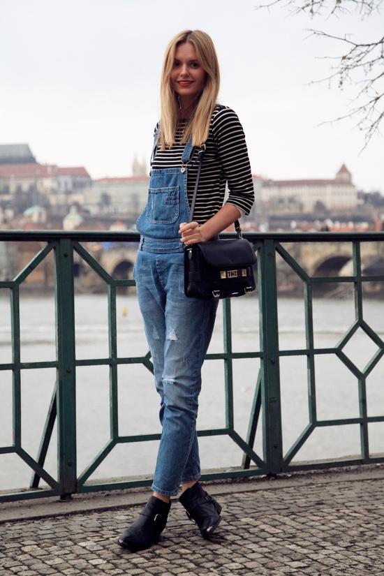 Fashion Week Salopette Jean