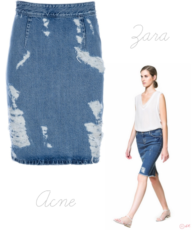 acne-zara-destroy-denim-skirt