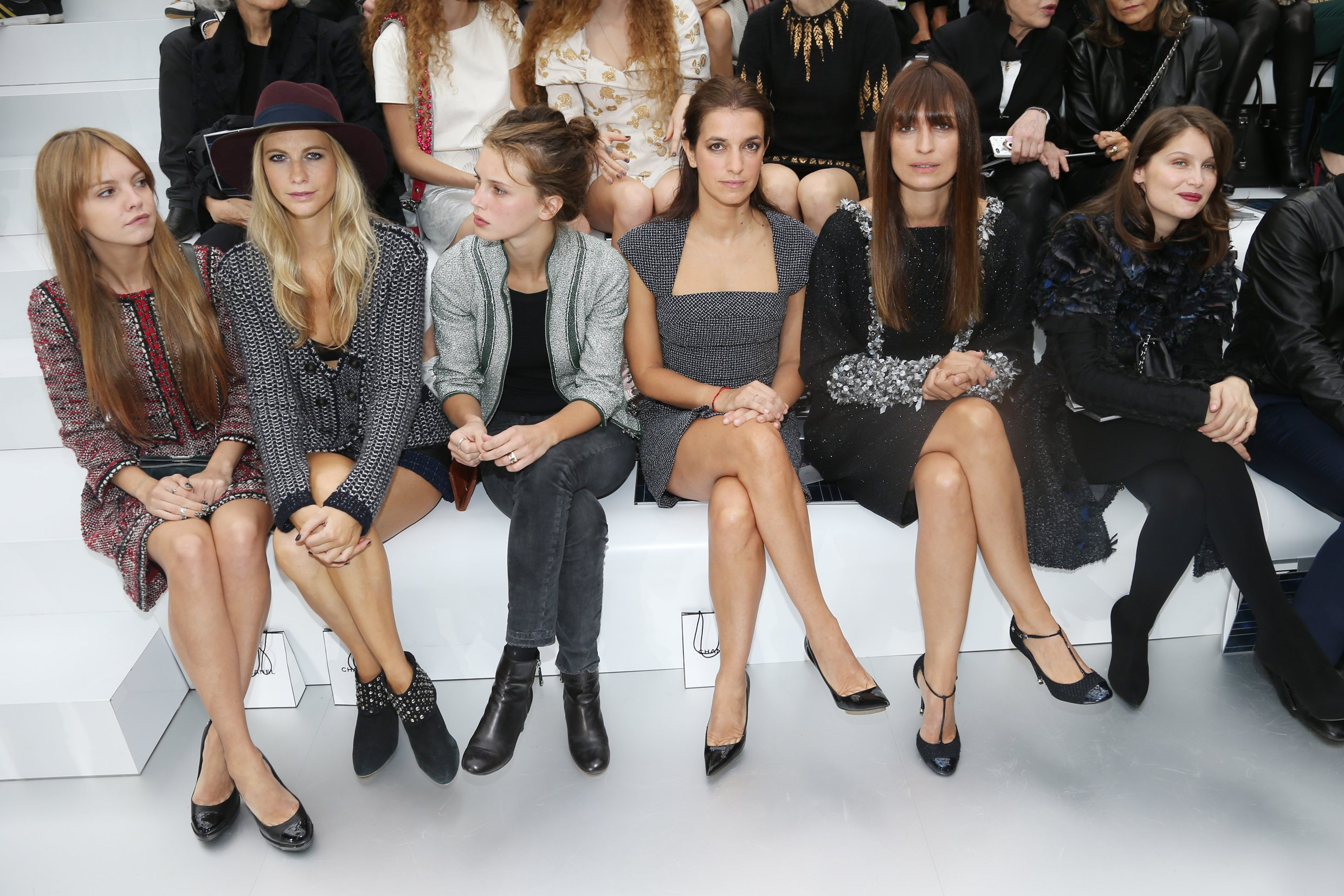 Marine-Vacth-who-s-that-girl-defile-front-row