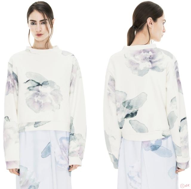 acne-sweatshirt-bird-floral-wanted-2