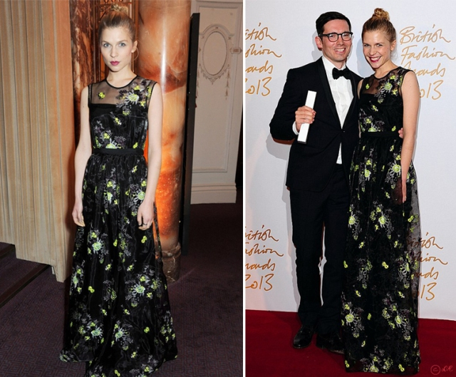 british-fashion-awards-2013-2-clemence-poesy-erdem