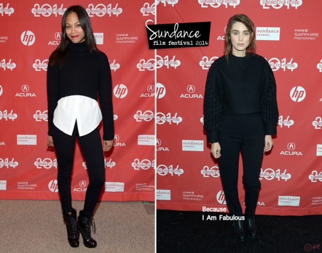 sundance-film-festival-2014-red-carpet-zoe-saldana-rooney-mara