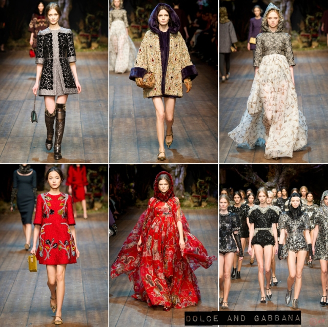 Milan-Fashion-Week-Autumn-Winter-2014-Dolce-and-Gabbana