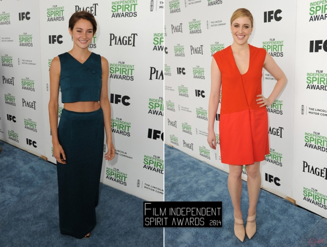 film-independent-spirit-awards-2014-red-carpet-Shailene-Woodley-Greta-Gerwig