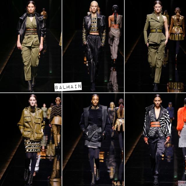 Paris-Fashion-Week-Automne-Hiver-2014-Balmain