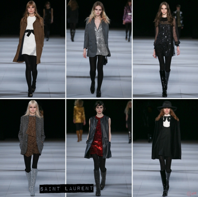 Paris-Fashion-Week-Automne-Hiver-2014-Saint-Laurent