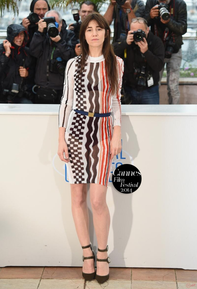 Charlotte-Gainsbourg-2014-Cannes-Film-Festival-red-carpet-little-Louis-Vuitton-Cruise-Collection-2015