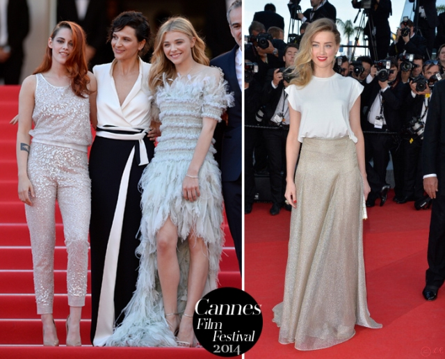 Juliette-Binoche-Amber-Heard-Cannes-Film-Festival-2014-Red-carpet-Armani-Prive-Vionnet-1