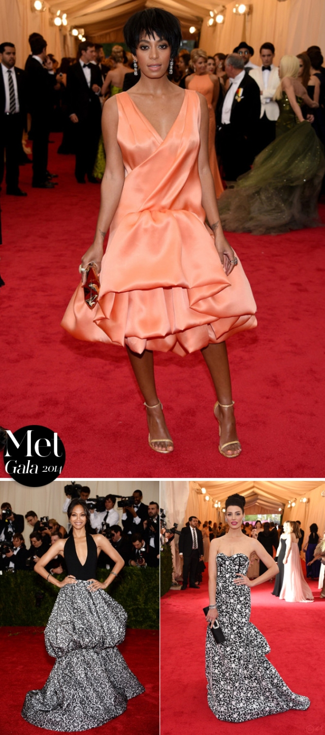 Met-Gala-2014-red-carpet-5-Solange-Knowles-Zoe-Saldana