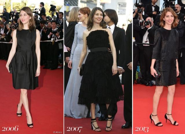 Sofia-Coppola-Cannes-Film-Festival-red-carpet-little-black-dress-2006-2007-2013