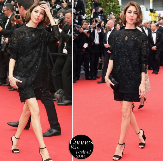 Sofia-Coppola-Cannes-Film-Festival-red-carpet-little-black-dress-2014