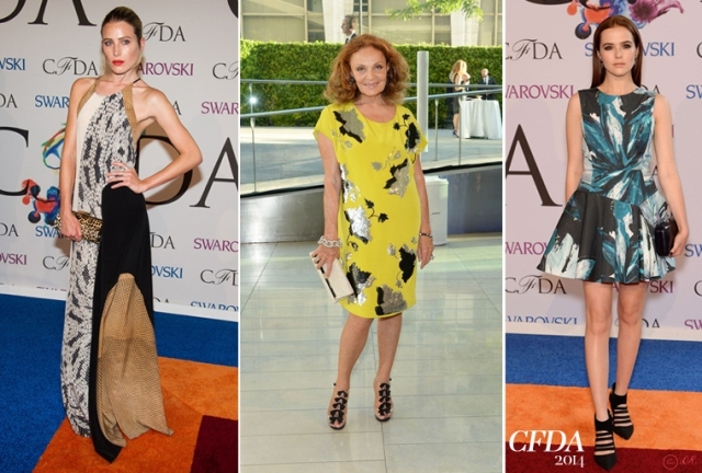 CDFA-2014-red-carpet-New-York-2-Dree-Hemingway-Diane-Von-Furstenberg-Zoey-Deuch