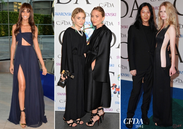 CDFA-2014-red-carpet-New-York-4-Joan-Smalls-Mary-Kate-Ashley-Olsen-Anna-Ewers