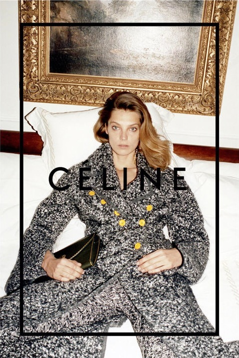 1-Le-Fashion-Blog-Daria-Werbowy-Celine-FW-2014-Ad-Campaign-By-Juergen-Teller-Yellow-Buttons