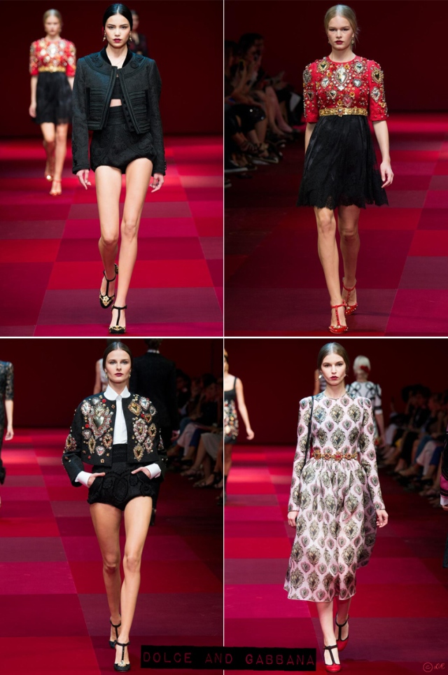 Milan-Fashion-Week-Spring-Summer-2015-Dolce-and-Gabbana