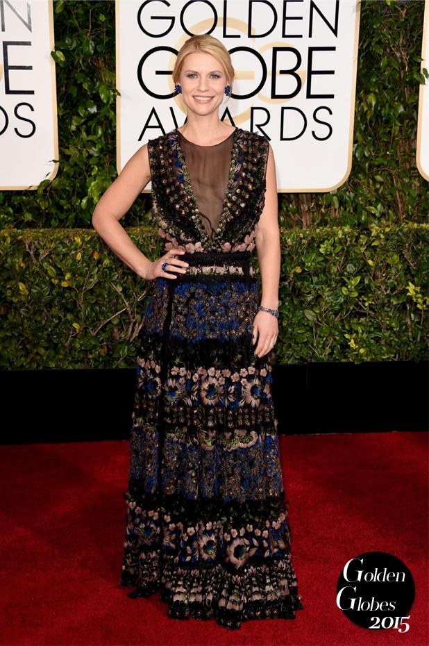 Golden-Globes-2015-leslie-mann-emma-stone-claire-danes-red-carpet-claire-danes