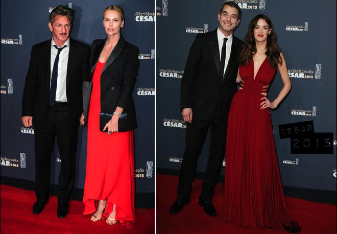 Cesar-2015-red-carpet-2-Charlize-Theron-Charlotte-LeBon